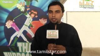 Abishek Speaks at  The Turboosters Film Press Meet