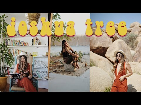 Roadtrip to joshua tree + airbnb tour | VLOG