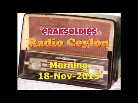 Video Radio Ceylon 18-11-2015~Wednesday Morning~02 Purani Filmon Ka Sangeet download in MP3, 3GP, MP4, WEBM, AVI, FLV January 2017