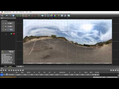 Autopano: Rotation tools