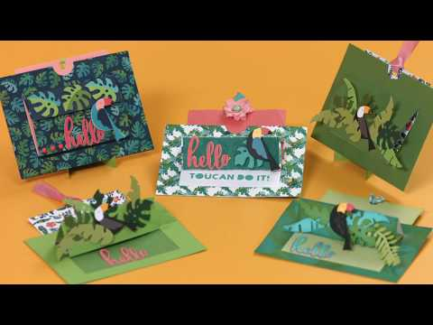DIY Tropical Gift Card Holder | Sizzix