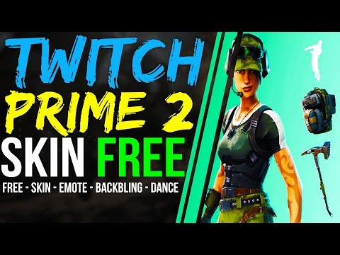 twitch prime pack 2 fortnite