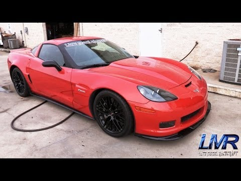 1001hp - A beautiful Z06 Carbon making 1001rwhp! This car is a monster, and loud doesn't even come close to describing it. www.latemodelracecraft.com Fan Page: http:/...