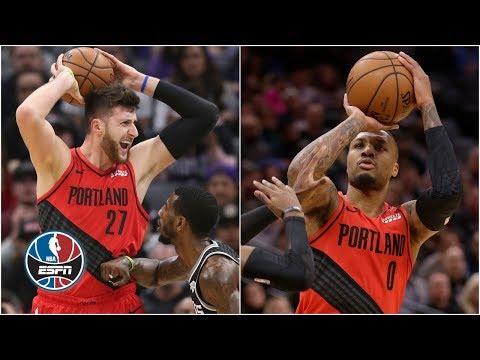 Video: Lillard, Nurkic lead Blazers to overtime win vs. Kings | NBA Highlights