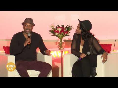 """""""The Love Talk""""  Touré & Sarah Jakes Roberts"""
