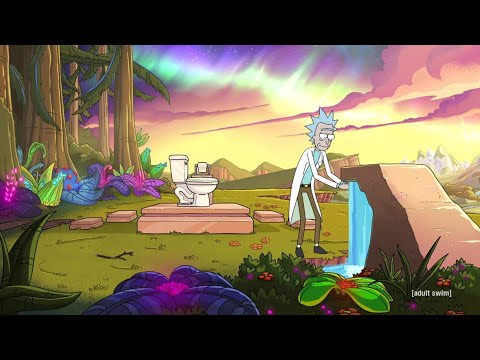 Rick and Morty 04x01 Rick's Special Pooping Place (Season 4 Episode 2)