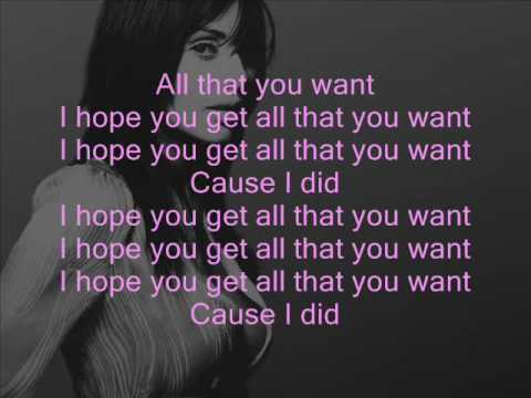 Natalie Imbruglia - Want (+ lyrics)
