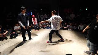 Jiggy Funk (優弥 & YouTee) vs HIGH LOW(Funky Junior & Nobuo) – WDC 2019 POPPIN' BEST16