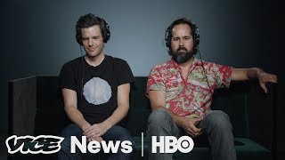 The Killers Brandon Flowers and Robert Marcucci Jr. stopped by to review new music in VICE News Tonight's Music Corner.