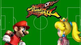 Super Mario Strikers - Mario vs  Peach