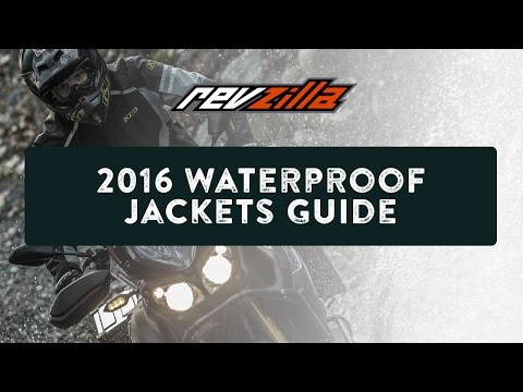 2016 Waterproof Motorcycle Jacket Buying Guide at RevZilla.com