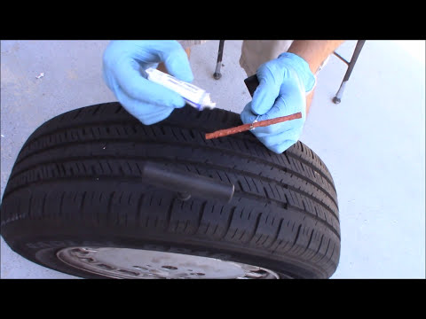 Video How to Fix a Flat Tire Without Removing the Wheel off the Car download in MP3, 3GP, MP4, WEBM, AVI, FLV January 2017