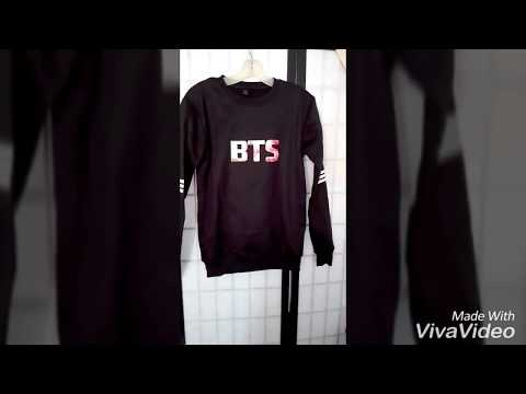 Unboxing BTS jungkook sweater