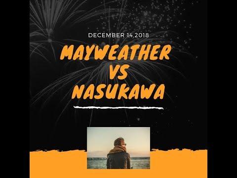 Floyd Mayweather VS Tenshin Nasukawa on December 14 2018
