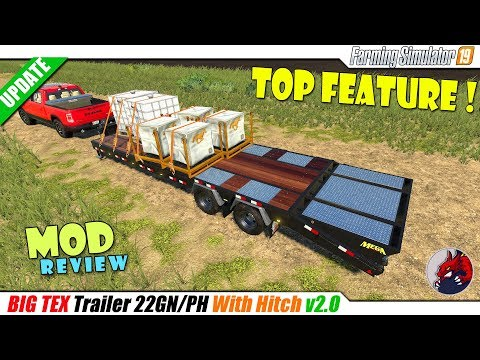 Big Tex Trailer with hitch v2.0