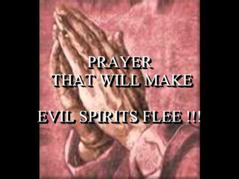 A Powerful Prayer For Evil Spirits