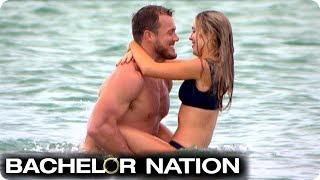 Colton Takes Cassie To A Private Island For First Date | The Bachelor US