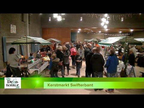 VIDEO | Kerstmarkt Swifterbant in De Hoeksteen: ,,Hopelijk voor 't laatst''