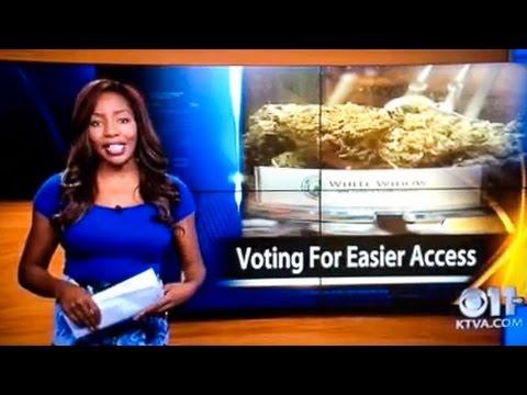 Periodista renuncia en directo exigiendo la legalización de la marihuana