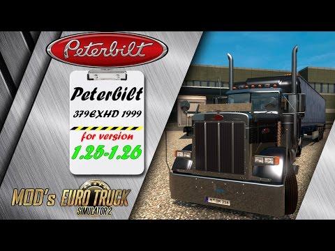 Peterbilt 379EXHD 1999 v2.1 v1.23.x - 1.26.x