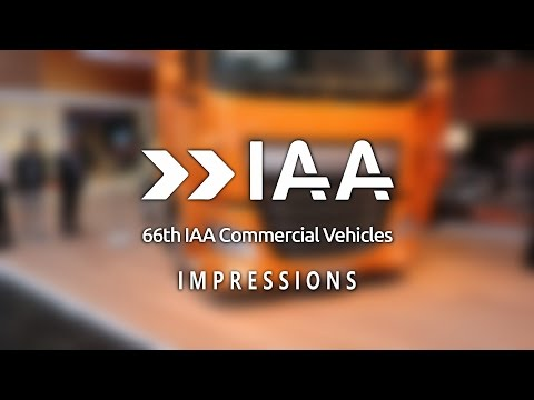 Impressions from IAA 2016