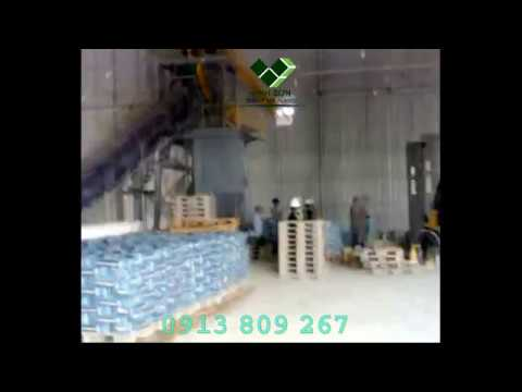 Dây chuyền trộn và đóng bao beton khô - Dry Concrete Ready-Mix Plant - Vinh Sơn Co., Ltd