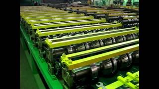 Производство финской металлочерепицы