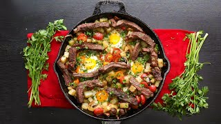 Steak and Eggs Hash •Tasty by Tasty