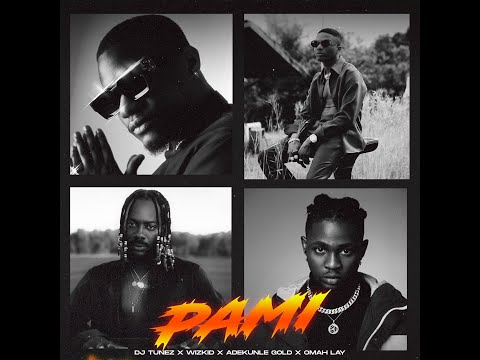 DJ Tunez - PAMI ft Wizkid, Adekunle Gold, & Omah Lay (Official Audio)