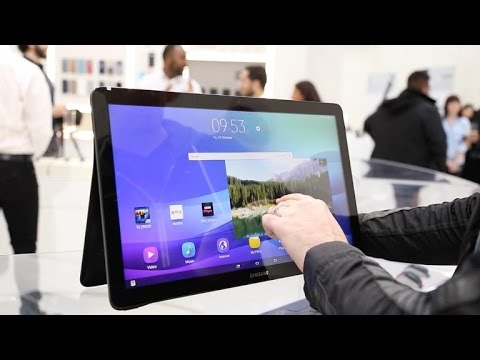 Samsung Galaxy View is an 18.4-inch tablet to compete with your TV
