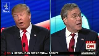 Video Donald Trump dominates CNN Republican debate MP3, 3GP, MP4, WEBM, AVI, FLV Maret 2019