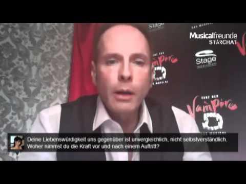 Kevin Tarte im StarChat bei Musicalfreunde.de