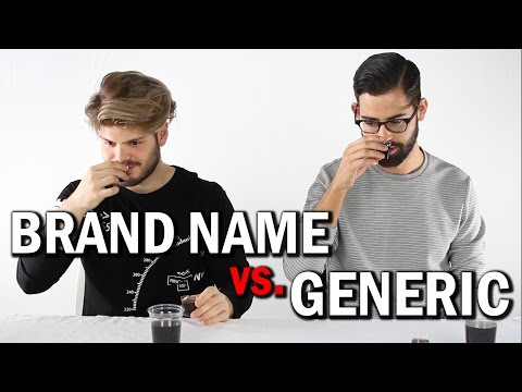 Taste Test: Generic Vs. Brand Name