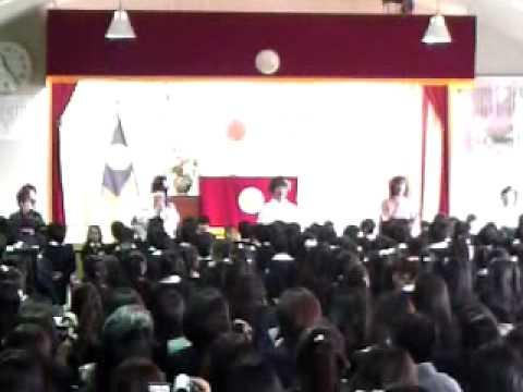 感動の卒園式: 愛和幼稚園、東京・練馬区、2010 /3/18