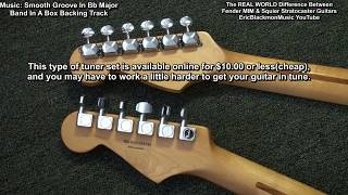 Video The Real Difference Between MIM Fender & MIM Squier Fat Stratocaster Guitar In My Experience MP3, 3GP, MP4, WEBM, AVI, FLV Juli 2018