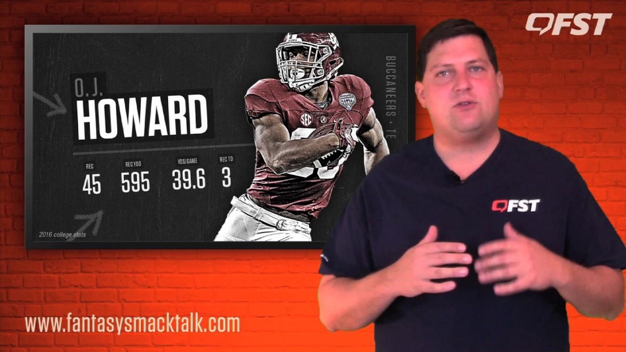 O.J. Howard Rookie Preview – 2017 Fantasy Football thumbnail