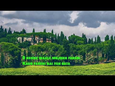 Video Kya Hua Tera Vaada Woh Kasam Woh Irada Instrumental With Lyrics download in MP3, 3GP, MP4, WEBM, AVI, FLV January 2017