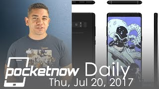Read more: http://pocketnow.comLee más en Español: http://es.pocketnow.comStories:- For the first time in months, here's a decent Honor 6X deal from B&H http://pocketnow.com/2017/07/20/honor-6x-decent-deal-b-h-photo-video-50-discount- Intel 'eliminates' division responsible for wearable devices, switching focus to AR http://pocketnow.com/2017/07/20/intel-eliminates-wearable-division-new-ar-focus- Lenovo's bold new AI-powered concepts include a virtual assistant, SmartVest and AR headset http://pocketnow.com/2017/07/20/lenovo-ai-concepts-virtual-assistant-smartvest-ar-headset- Dreamy new Apple patents imagine personalized 911 fingerprint calling, smart Siri dock with wireless charging http://pocketnow.com/2017/07/20/apple-patents-911-fingerprint-calling-smart-siri-dock- This might be it: clear, credible Galaxy Note 8 renders showcase every nook and cranny http://pocketnow.com/2017/07/20/clear-credible-new-samsung-galaxy-note-8-renders-leakedWatch today's Pocketnow Daily as we talk about some of the recent deals you can find for the Honor 6X at B&H. Then we talk about Intel and how the company is leaving the wearable market in favor of AR. Lenovo follows as we get a teaser of its AR plans, in addition to its new virtual assistant called CAVA. Then we talk about Apple and some of its new patents for products to complement the HomePod. We end today's show talking about the Samsung Galaxy Note 8 and the renders, event invites, etc.All this and more after the break.Subscribe:http://www.youtube.com/subscription_center?add_user=PocketnowvideoAbout us:Pocketnow has been a key source of mobile technology news and reviews since its establishment in 2000. With offices on three continents, Pocketnow offers round-the-clock coverage of the mobile technology landscape, from smartphones to tablets to wearables. We aim to be your number-one source for mobile tech news, reviews, comparisons, and commentary. If you love mobile as much as we do, be sure to subscribe!Follow us:http://poc
