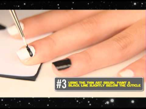 CATALOG's D.I.Y. Series: Star Wars-themed Nail Art
