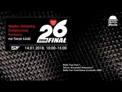 26. Finał WOŚP na Torze Łódź. Rally Taxi z Krzysztofem Hołowczycem. Przejazd 1 on-board.