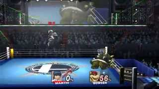 This guy has remade a bunch of SSB4 Maps IN SSBB! Here's boxing ring!