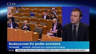 Buducnost EU podle Junckera