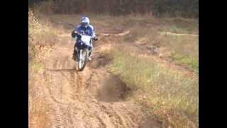 9. Yamaha TT-R125LE doing whoops at Ganaraska