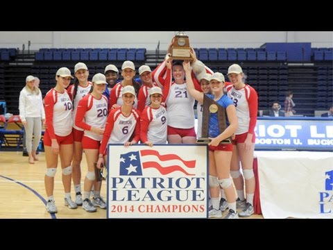 AU wins 2014 Patriot League Volleyball Championship