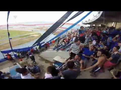 La petrolera celebra gol zulia vs Atl Venezuela - La Petrolera - Zulia