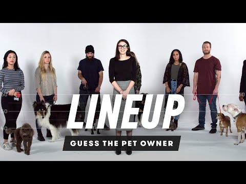 Match the Dog to Their Owner - Lineup