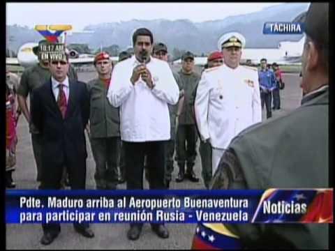 Presidente encargado Nicolás Maduro recibe a comisión rusa para reunión de alto nivel