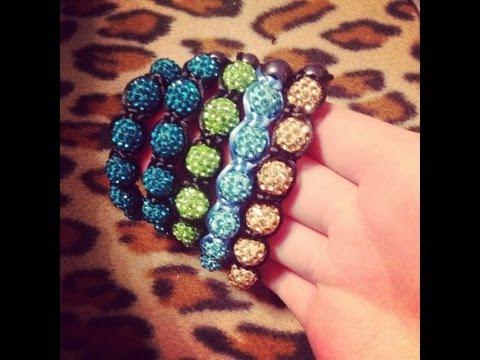 обзор на мои браслеты и шамбалы