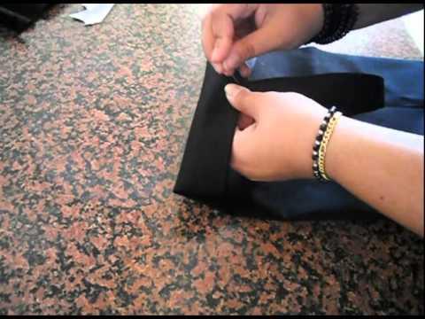 Tutorial Cucire  una borsa semplice (Sportina / shopping bag)