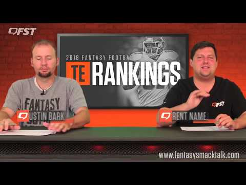 2018 Fantasy Football Tight End Tiers and Rankings thumbnail